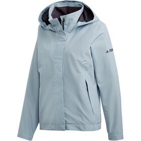 adidas TERREX AX Jacket Damen ash grey